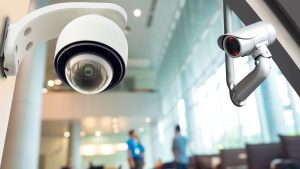 commercial security system for business